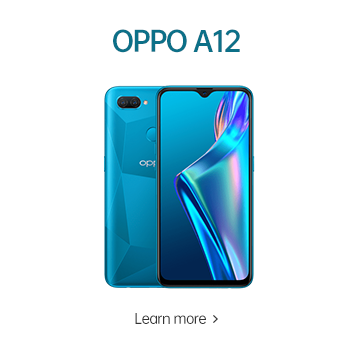 OPPO A12 #BetterAtHome