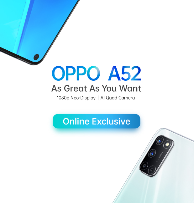 OPPO A52 Flash Sale